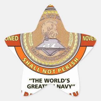 USS ABRAHAM LINCOLN CVN-72 U.S.NAVY CARRIER STAR STICKER
