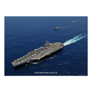 USS Abraham Lincoln Póster