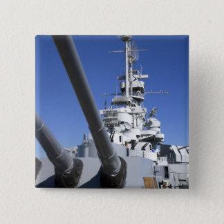 USS Alabama Battleship at Battleship Memorial Pinback Button