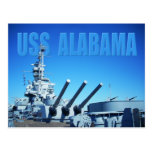 USS Alabama (BB-60), móvil, AL Postal