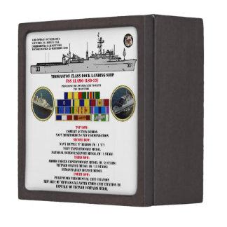 USS ALAMO (LSD-33) GIFT BOX