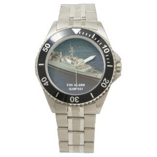 USS ALAMO (LSD-33) WRIST WATCH