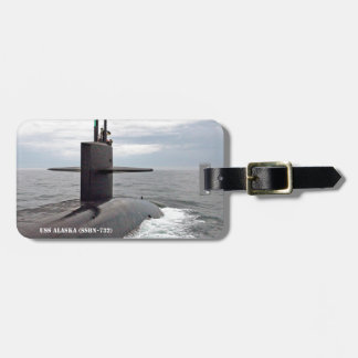 USS ALASKA BAG TAG