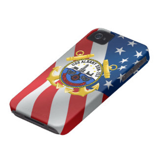 USS Albany SSN-753 iPhone 4 Case-Mate Case