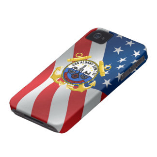 USS Albany SSN-753 iPhone 4 Cover