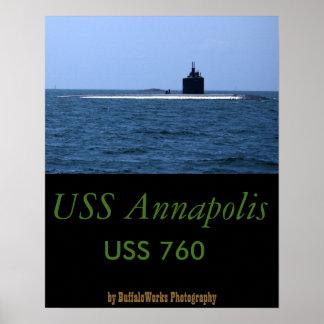 USS Annapolis en el mar Impresiones