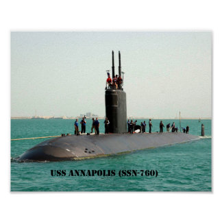 USS ANNAPOLIS POSTER