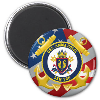 USS Annapolis SSN 760 Magnet