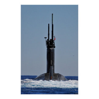 USS Annapolis (SSN 760) Poster