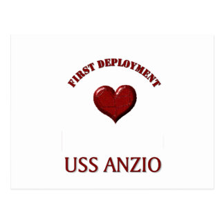 Uss Anzio A Postcard