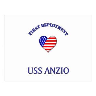 Uss Anzio Postcard