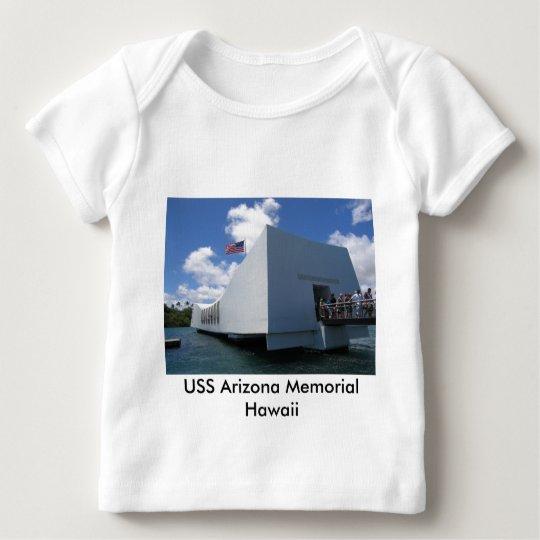 USS Arizona Memorial - Hawaii Baby T-Shirt