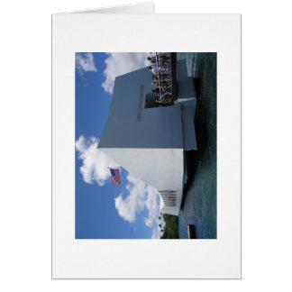 USS Arizona Memorial - Hawaii Card