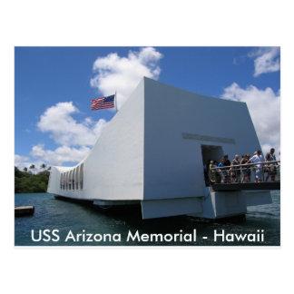 USS Arizona Memorial - Hawaii Postcard