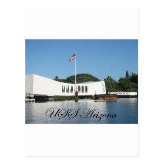 USS Arizona Post Cards