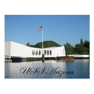 USS Arizona Post Card