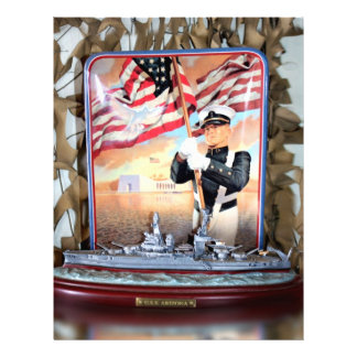 USS Arizona Tribute Customized Letterhead
