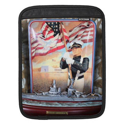 USS Arizona Tribute Sleeves For iPads