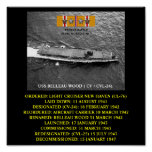 USS BELLEAU WOOD ( CV / CVL-24)  POSTER