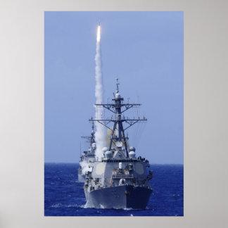 USS Benfold DDG 65 Print