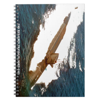 USS BENJAMIN FRANKLIN NOTEBOOK