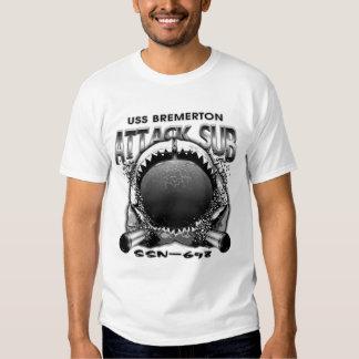 USS Bremerton SSN-698 Tee Shirt