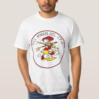 USS Bunker Hill Insignia T Shirt