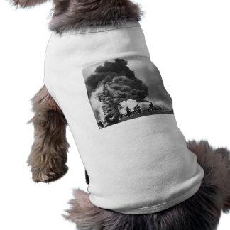 USS Bunker Hill Kamikaze Attack -- WWII Dog Tee