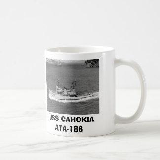 USS CAHOKIA ATA-186 COFFEE MUG