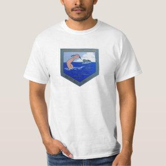 USS Cahokia ATA-186 Logo T-Shirt