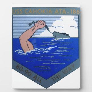 USS Cahokia ATA-186 Plaque