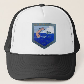 USS Cahokia ATA-186 Trucker Hat