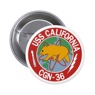 USS California (CGN 36) Pin