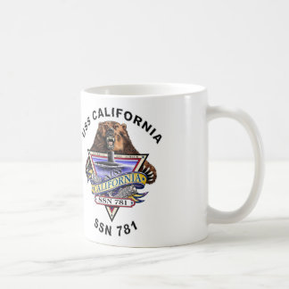 USS California SSN 781 Ship's Crest Coffee Mug