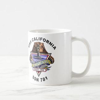 USS California SSN 781 Ship's Crest Coffee Mug