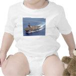USS Carl Vinson embroma la ropa Traje De Bebé