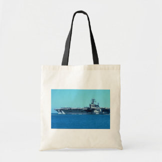 "USS Carl Vinson"", nuclear powered carrier CV-70 Budget Tote Bag"