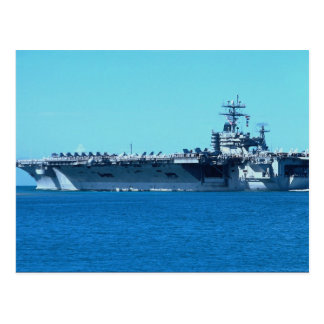 "USS Carl Vinson"", nuclear powered carrier CV-70 Postcard"