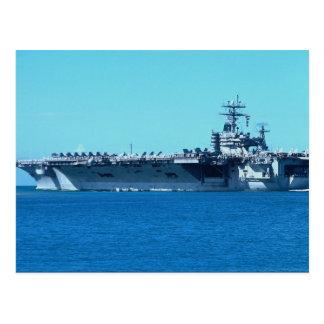 "USS Carl Vinson"", portador de propulsión nuclear C Tarjeta Postal"