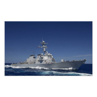 USS Carney (DDG 64) Póster