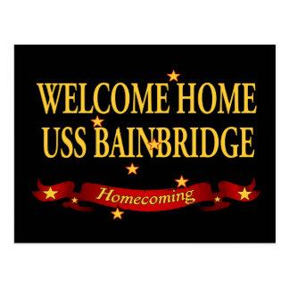 USS casero agradable Bainbridge Postal