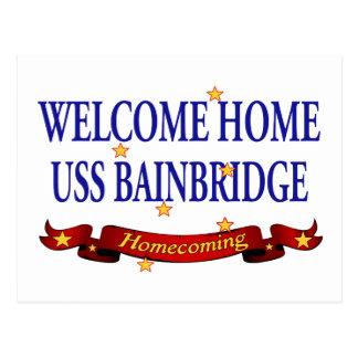 USS casero agradable Bainbridge Tarjetas Postales