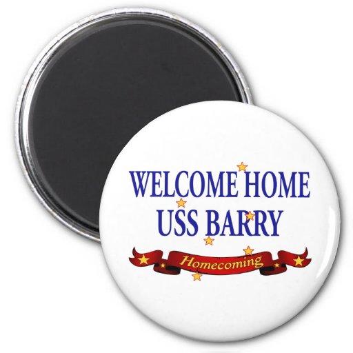 USS casero agradable Barry Imán De Frigorifico