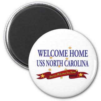 USS casero agradable Carolina del Norte Imán