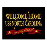 USS casero agradable Carolina del Norte Tarjetas Postales