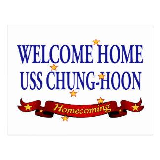 USS casero agradable Chungkin-Hoon Postal
