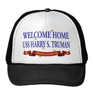 USS casero agradable Harry S. Truman Gorras