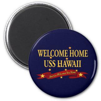 USS casero agradable Hawaii Iman De Frigorífico