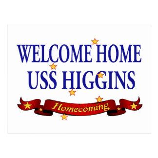 USS casero agradable Higgins Tarjeta Postal