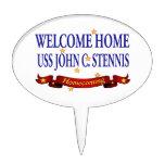 USS casero agradable Juan C. Stennis Decoración De Tarta